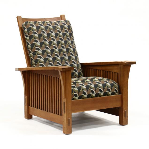 stickley-cherry-morris-chair