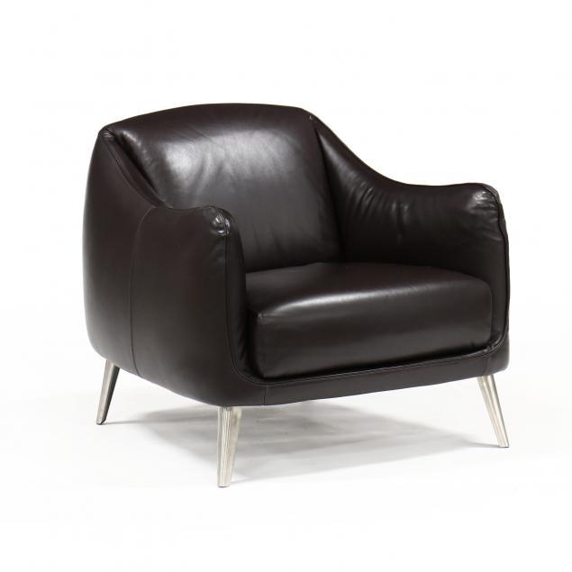 natuzzi-spa-modern-leather-club-chair