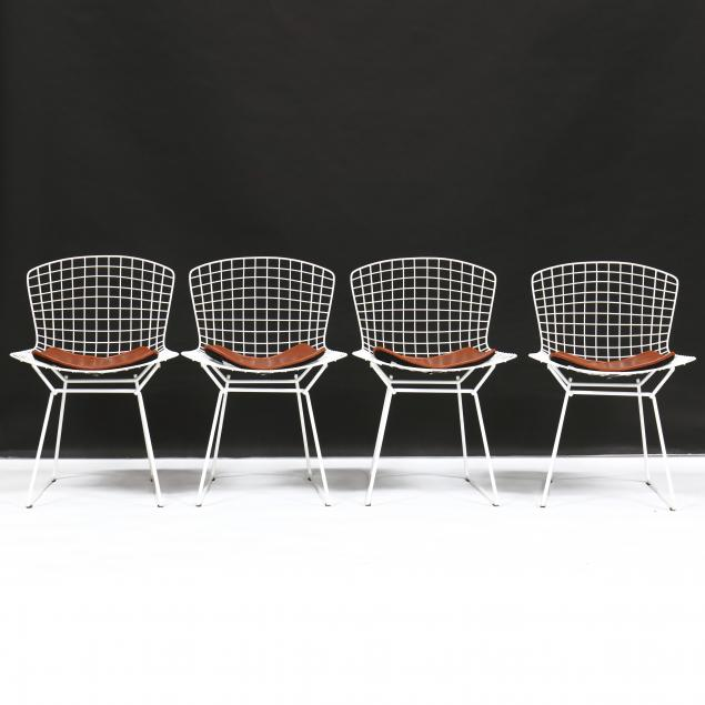 harry-bertoia-italy-1915-1978-set-of-four-wire-chairs