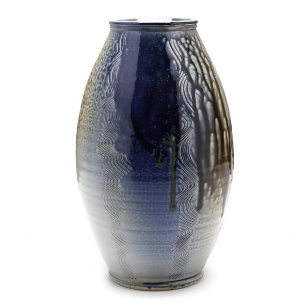 nc-pottery-ben-owen-iii-salt-glazed-tall-vase