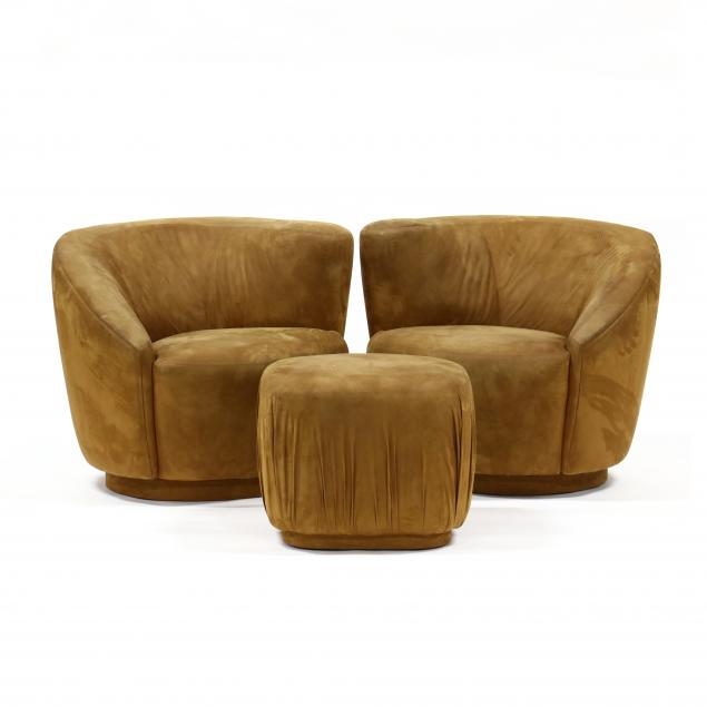 pair-of-kagan-style-swivel-club-chairs-and-ottoman