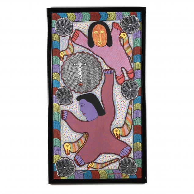 prosper-pierre-louis-haitian-1947-1997-i-la-planette-en-mouvement-i
