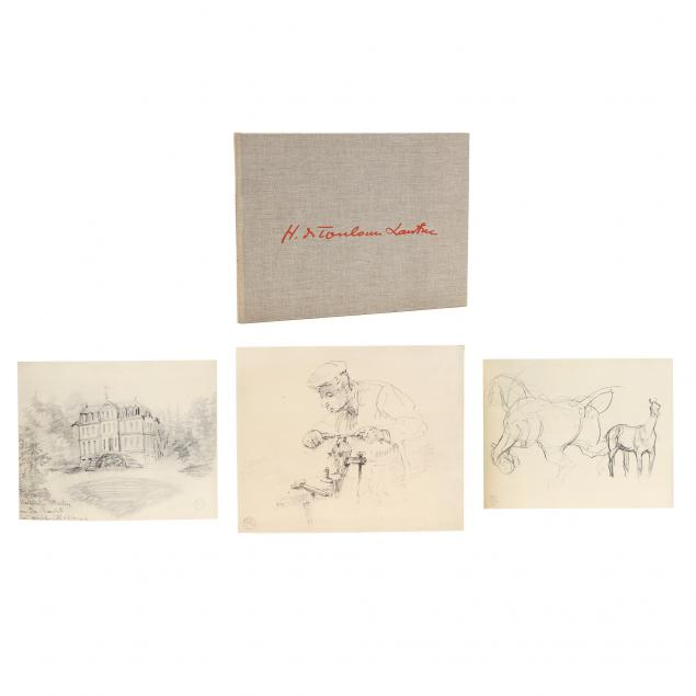 i-one-hundred-ten-unpublished-drawings-by-toulouse-lautrec-i-boston-1955