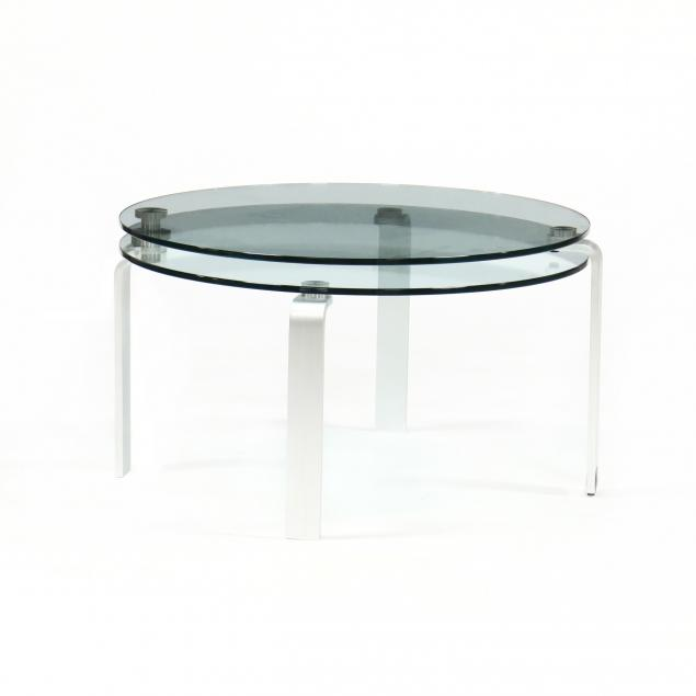 contemporary-steel-and-glass-two-tiered-low-table