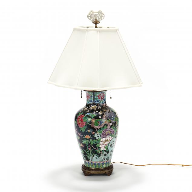 a-large-chinese-porcelain-peacock-vase-lamp