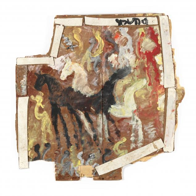 purvis-young-fl-1943-2010-wild-horses