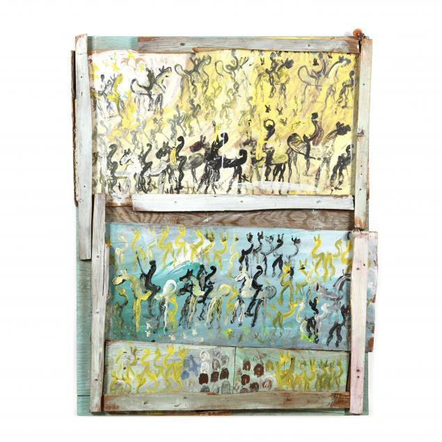 purvis-young-fl-1943-2010-mixed-media-artwork