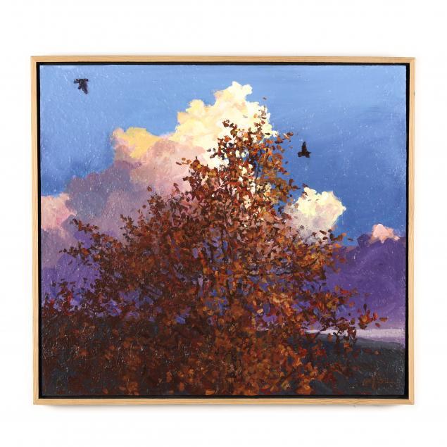 michael-brown-nc-lone-tree-before-clouds