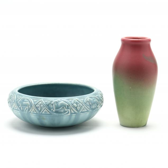 two-pieces-of-rookwood-pottery