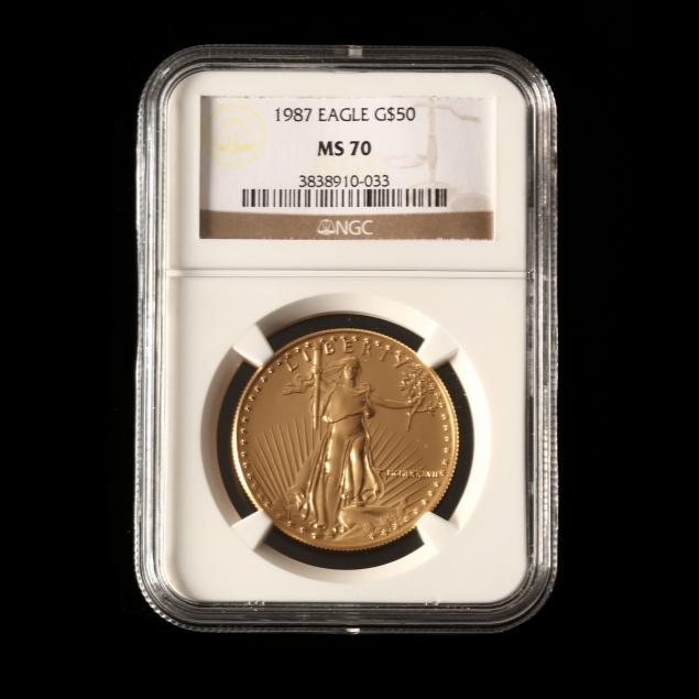 1987-50-one-ounce-gold-american-eagle-ngc-ms70