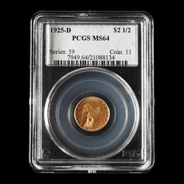 1925-d-indian-head-2-50-gold-quarter-eagle-pcgs-ms64