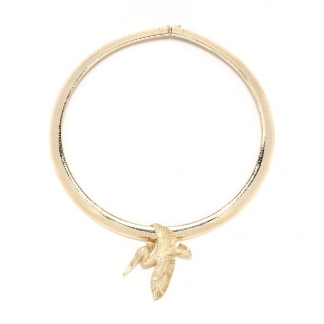 14kt-gold-omega-necklace-and-slide