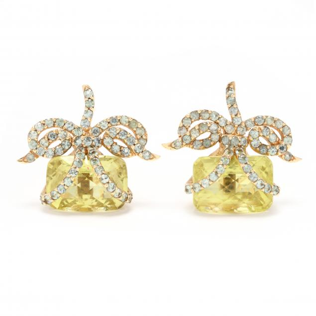 gold-and-gem-set-earrings