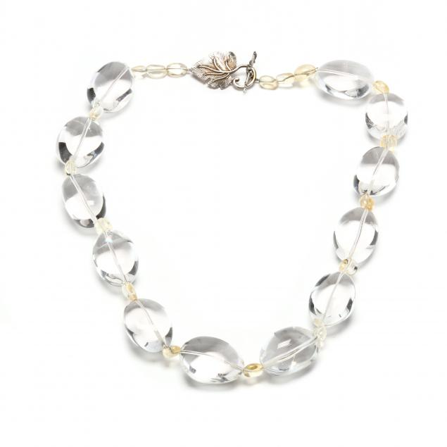 rock-crystal-quartz-and-citrine-bead-necklace