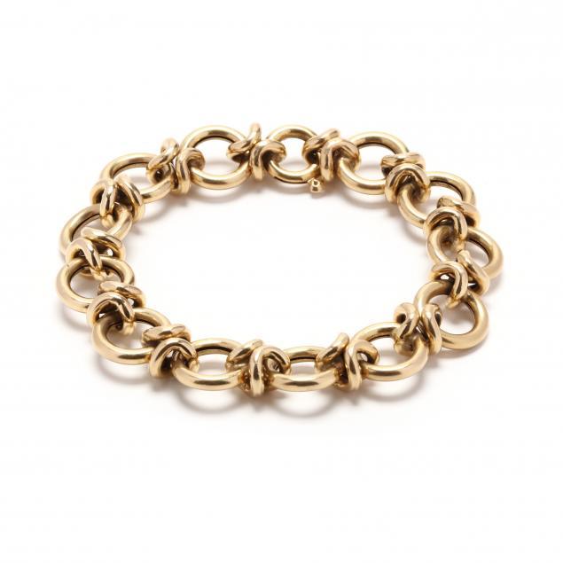 vintage-18kt-gold-bracelet-italy