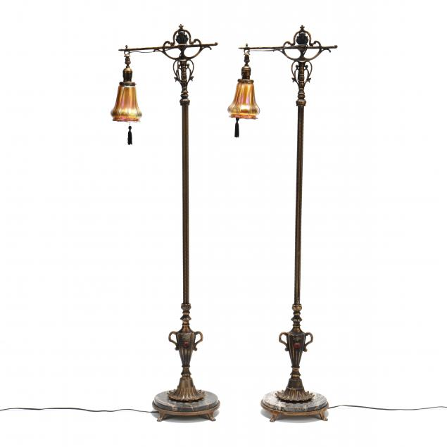 pair-of-vintage-floor-lamps-with-art-glass-shades