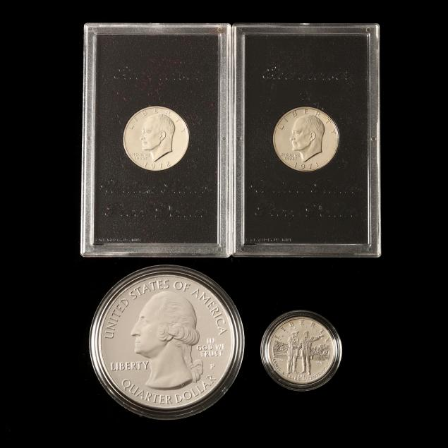four-silver-u-s-mint-products