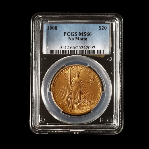 1908-st-gaudens-20-gold-double-eagle-no-motto-pcgs-ms66