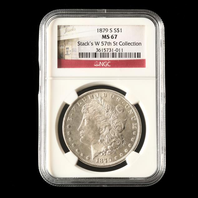 1879-s-morgan-silver-dollar-stack-s-w-57th-st-collection-ngc-ms67