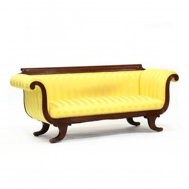 federal-style-upholstered-mahogany-sofa