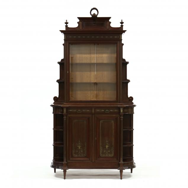 edwardian-brass-inlaid-step-back-cabinet
