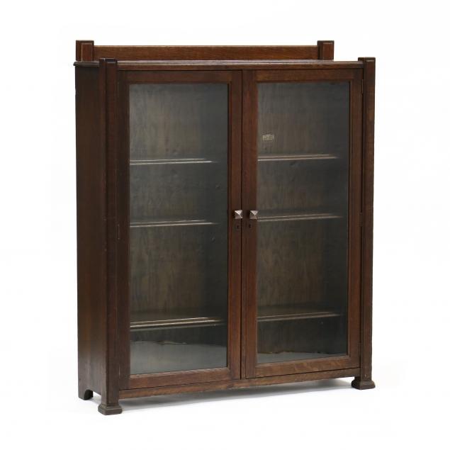 life-time-mission-oak-bookcase