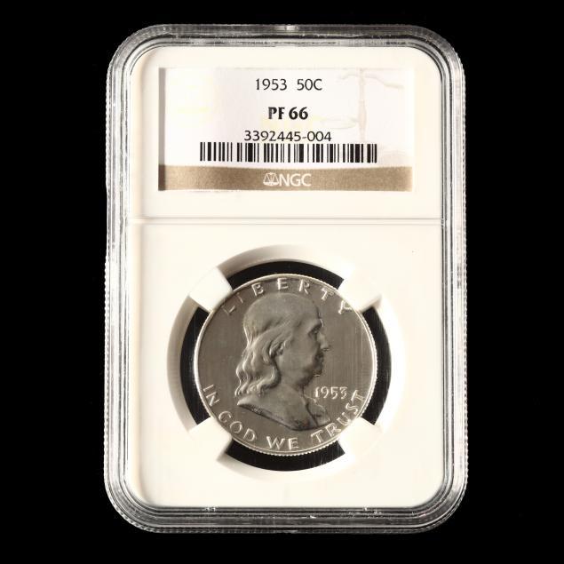 1953-franklin-half-dollar-ngc-pf66