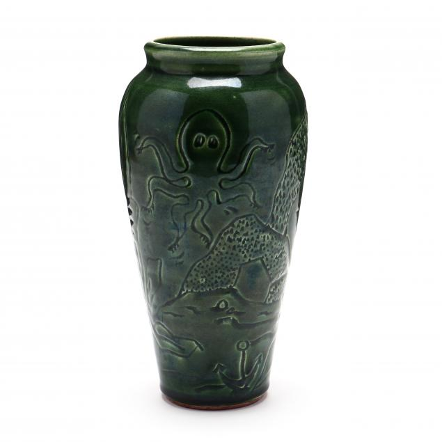 contemporary-seagrove-nc-pottery-vase