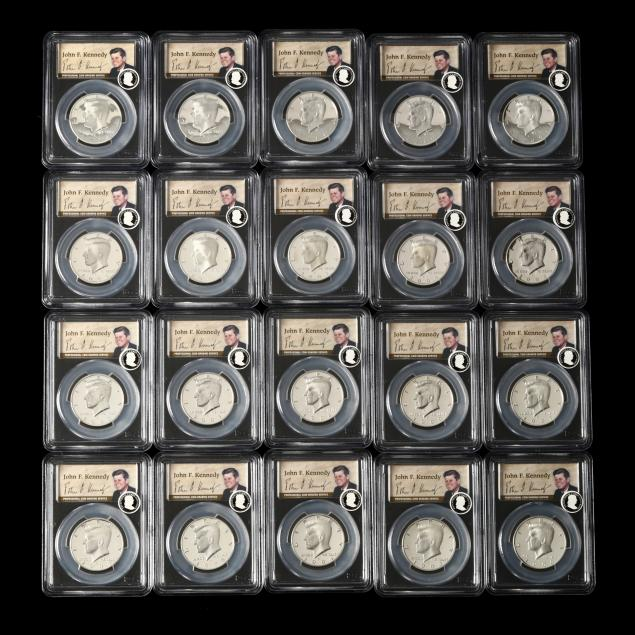 twenty-50th-anniversary-silver-proof-kennedy-half-dollars-1992-2011