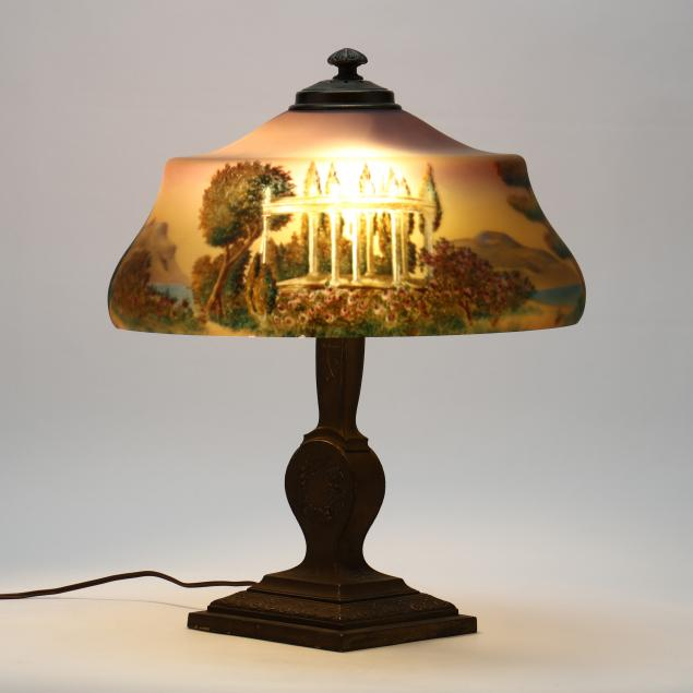 pairpoint-reverse-painted-table-lamp