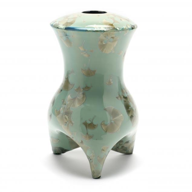 crystalline-glazed-pottery-vessel