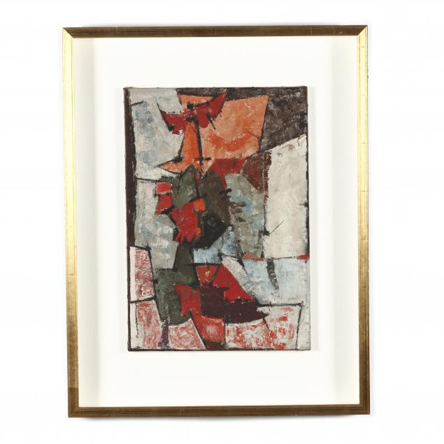 continental-school-mid-20th-century-abstract-expressionist-painting