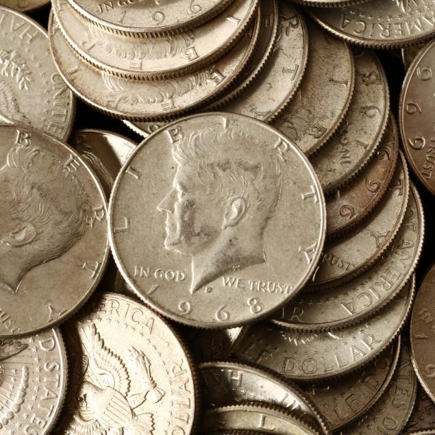 86-kennedy-40-silver-half-dollars