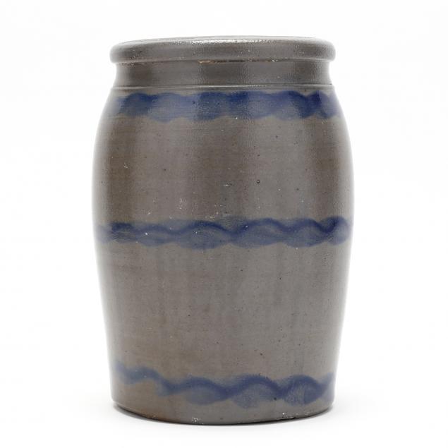 antique-stoneware-striper-canning-jar