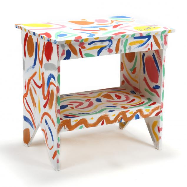 sam-ezell-nc-painted-table