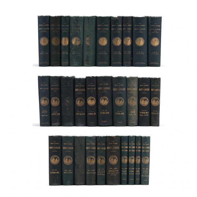 i-the-colonial-and-state-records-of-north-carolina-i-thirty-30-volumes