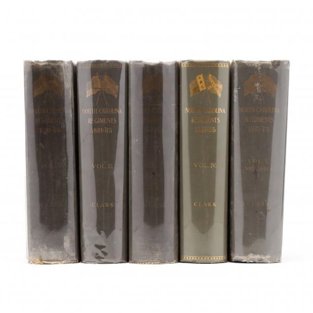 complete-set-of-clark-s-nc-regimental-histories