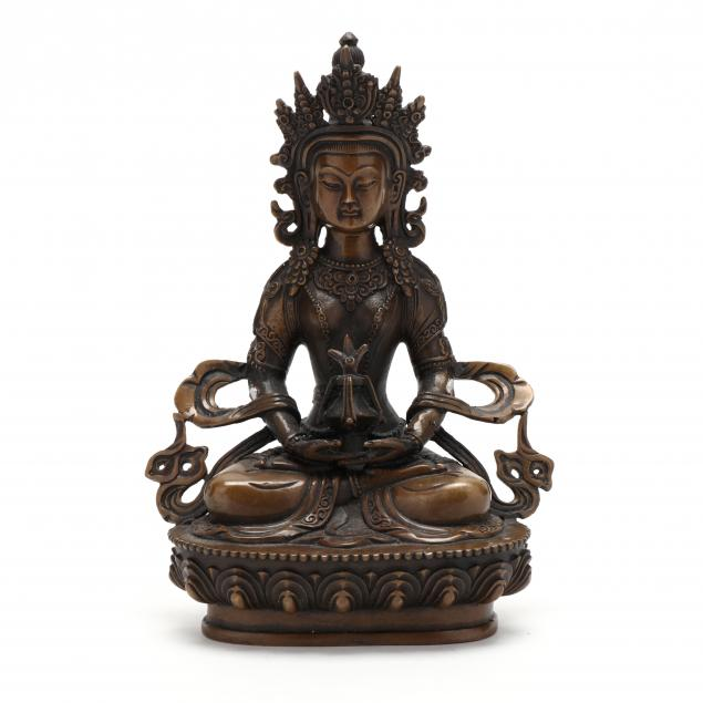 a-tibetan-gilt-bronze-goddess-figure