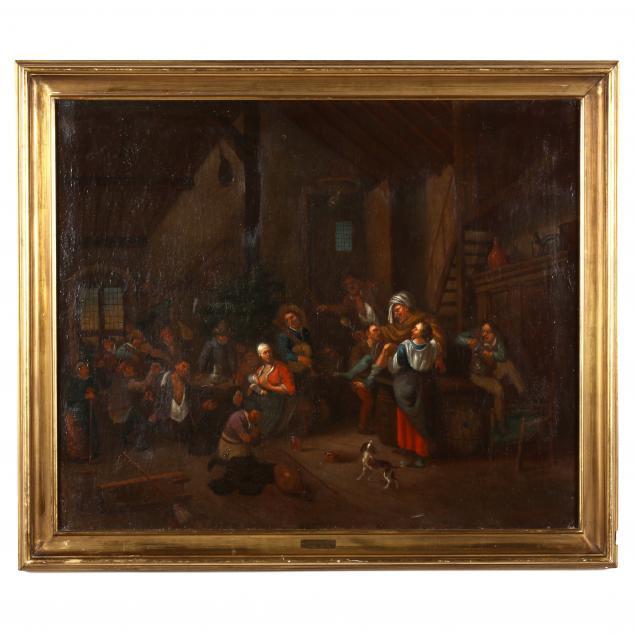 flemish-school-17th-century-tavern-scene-with-figures