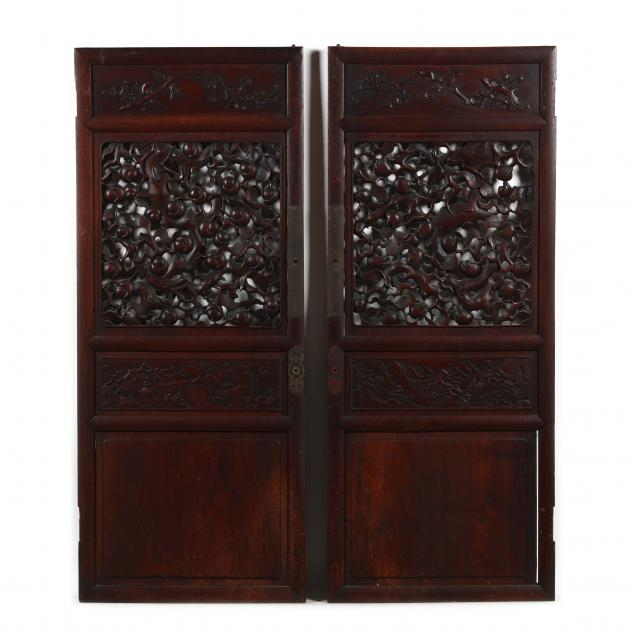 a-pair-of-chinese-carved-wooden-panels
