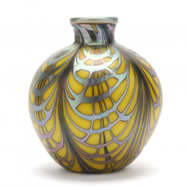 charles-lotton-ca-art-glass-vase