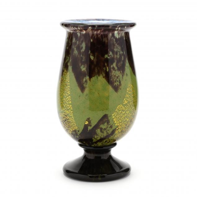 daum-art-deco-glass-vase
