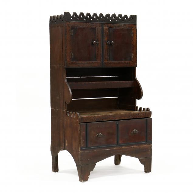 primitive-painted-diminutive-step-back-cupboard