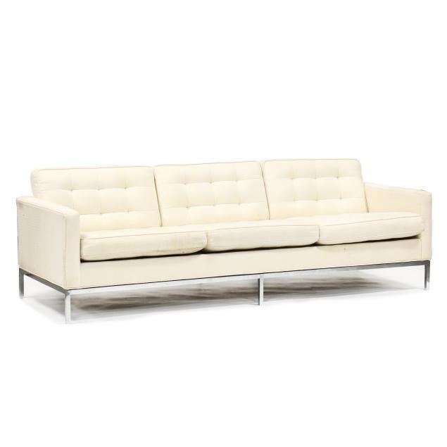 att-florence-knoll-american-1917-2019-upholstered-chrome-sofa