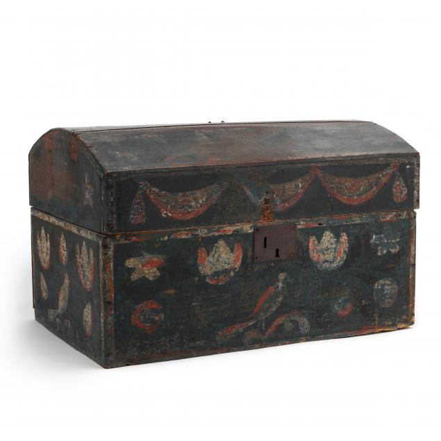 antique-continental-painted-child-s-trunk