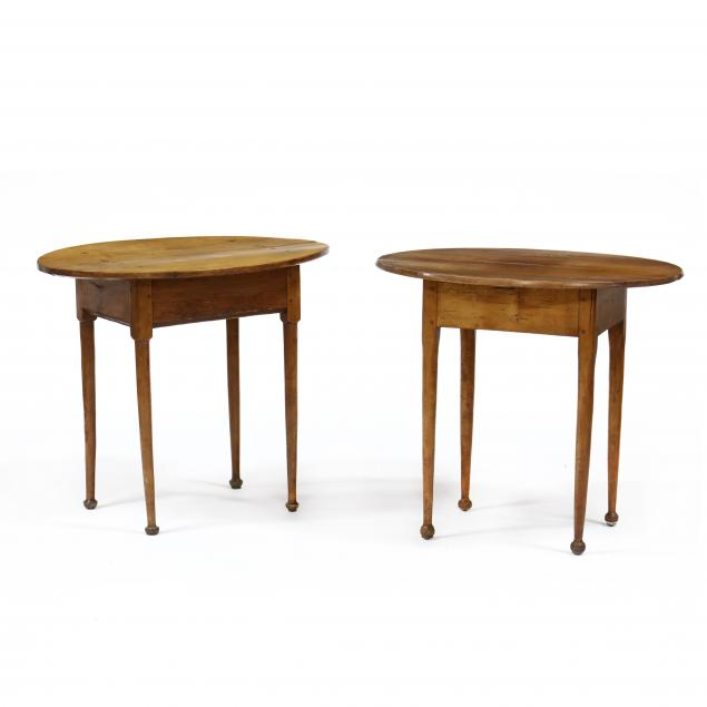 two-american-queen-anne-oval-tavern-tables