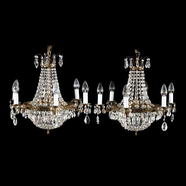 a-matched-pair-of-vintage-drop-prism-chandeliers
