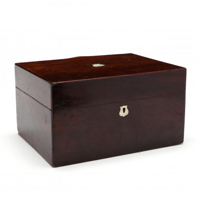 antique-english-portable-writing-box
