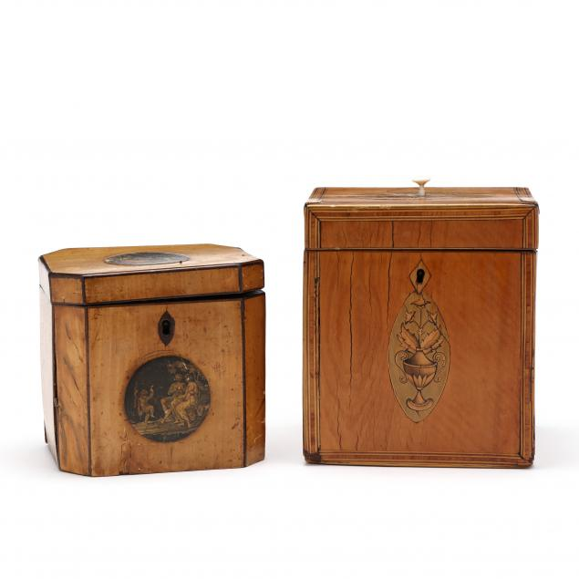 two-antique-inlaid-tea-caddies