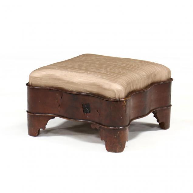 american-classical-mahogany-footstool